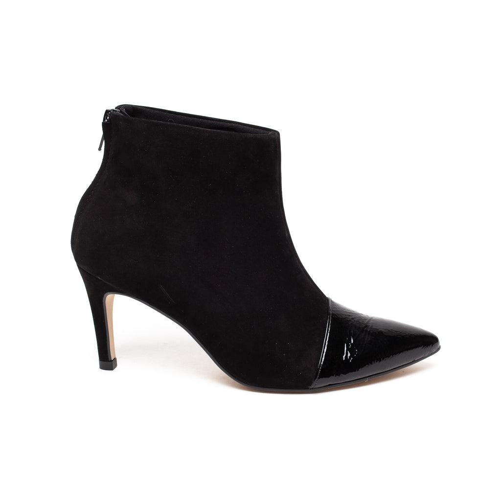 Brazilio 49010 Nero Nubuck and Patent