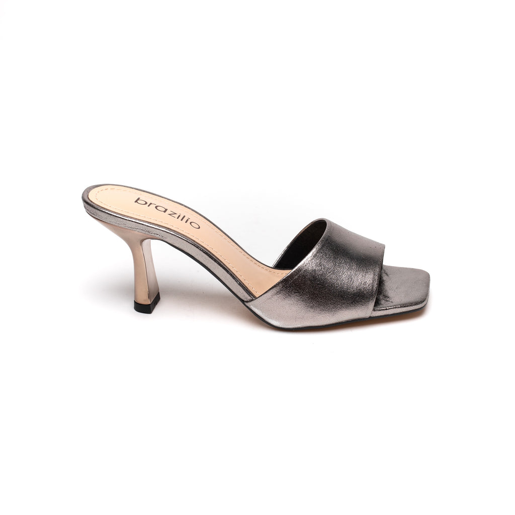 Brazilio Cindy Pewter Metallic