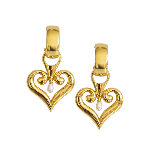 Mountain & Moon Bella Earrings Gold