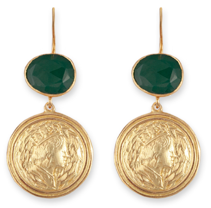 Bianc Moss Earrings