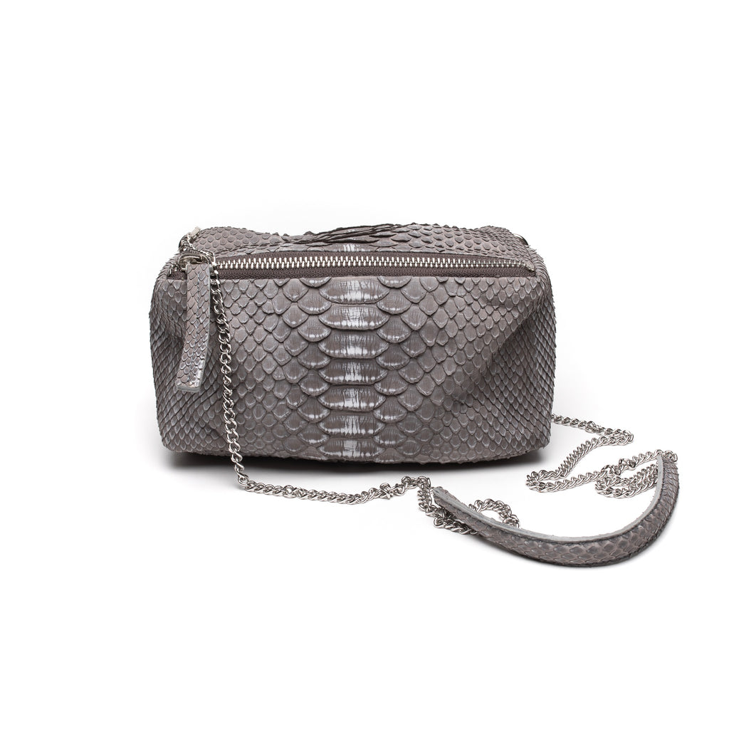 Johnny Ramli Suzi Bag Taupe Snake