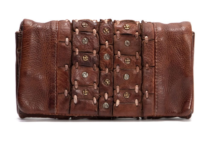 Mahson & Co Take Me With You Wallet Cognac
