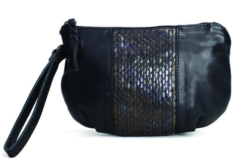 Mahson & Co A Night to Remember Clutch Black