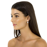 Fairley Double Pearl Ear Jackets Silver