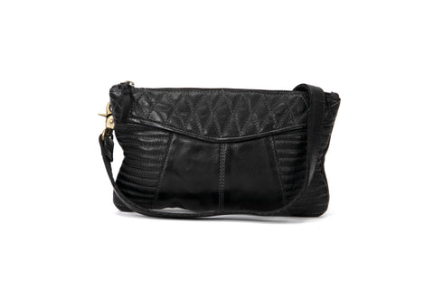 Mahson & Co Follow The Sun Clutch Black