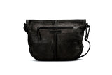 Mahson & Co Follow The Sun Crossbody Bag Black