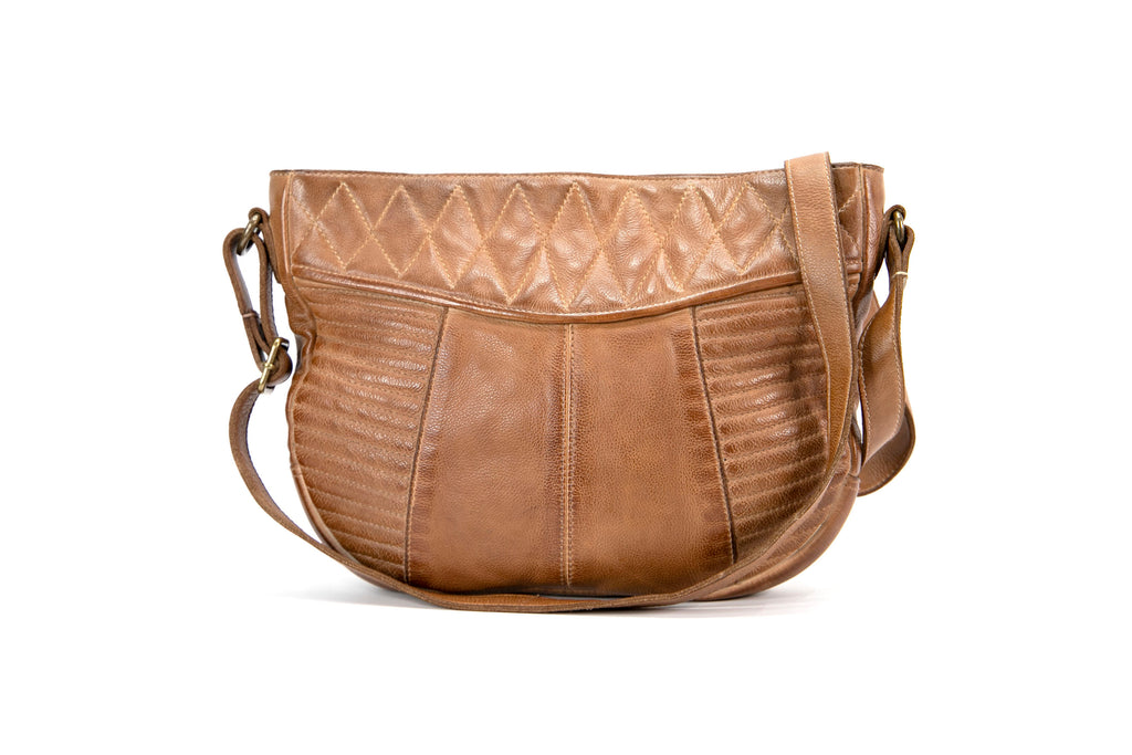 Mahson & Co Follow The Sun Crossbody Bag Tan