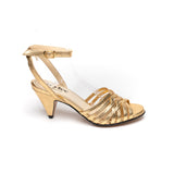 Ivy Lee Mathilda Gold Metallic