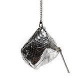 Johnny Ramli Suzi Bag Silver Snake
