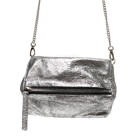 Johnny Ramli Suzi Bag Silver Metallic