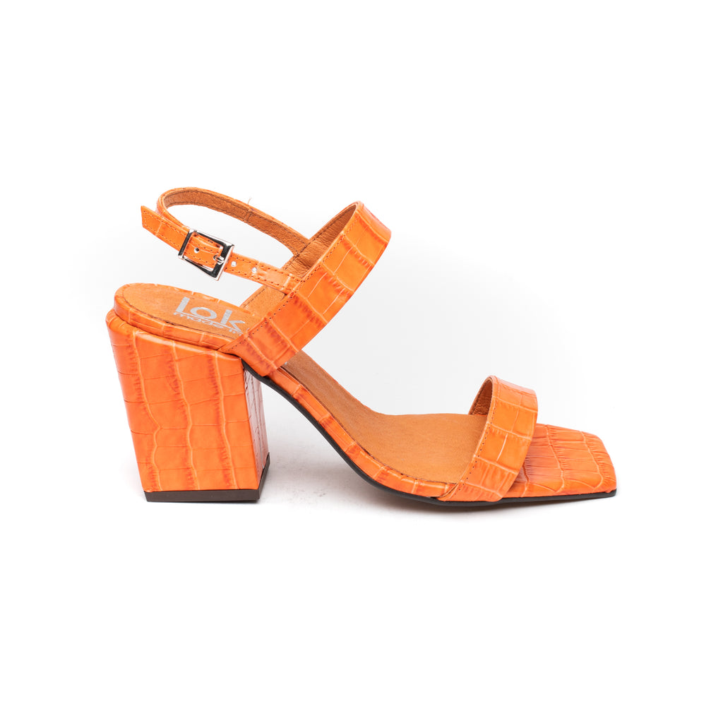 Lokas 6248 Orange Croc