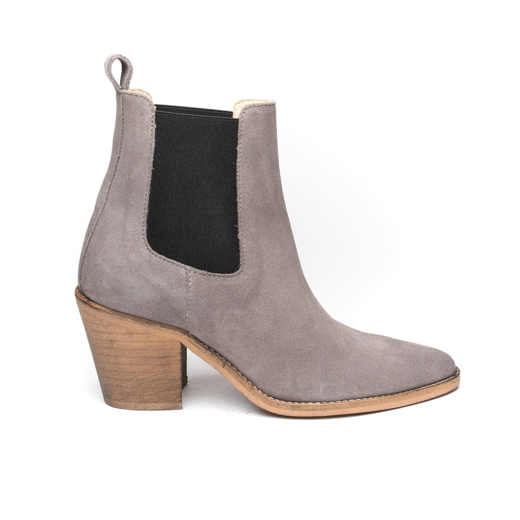 Ivy Lee Celine Grey Suede