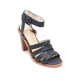 Nude Lela in Indigo leather - LAST PAIR size 40