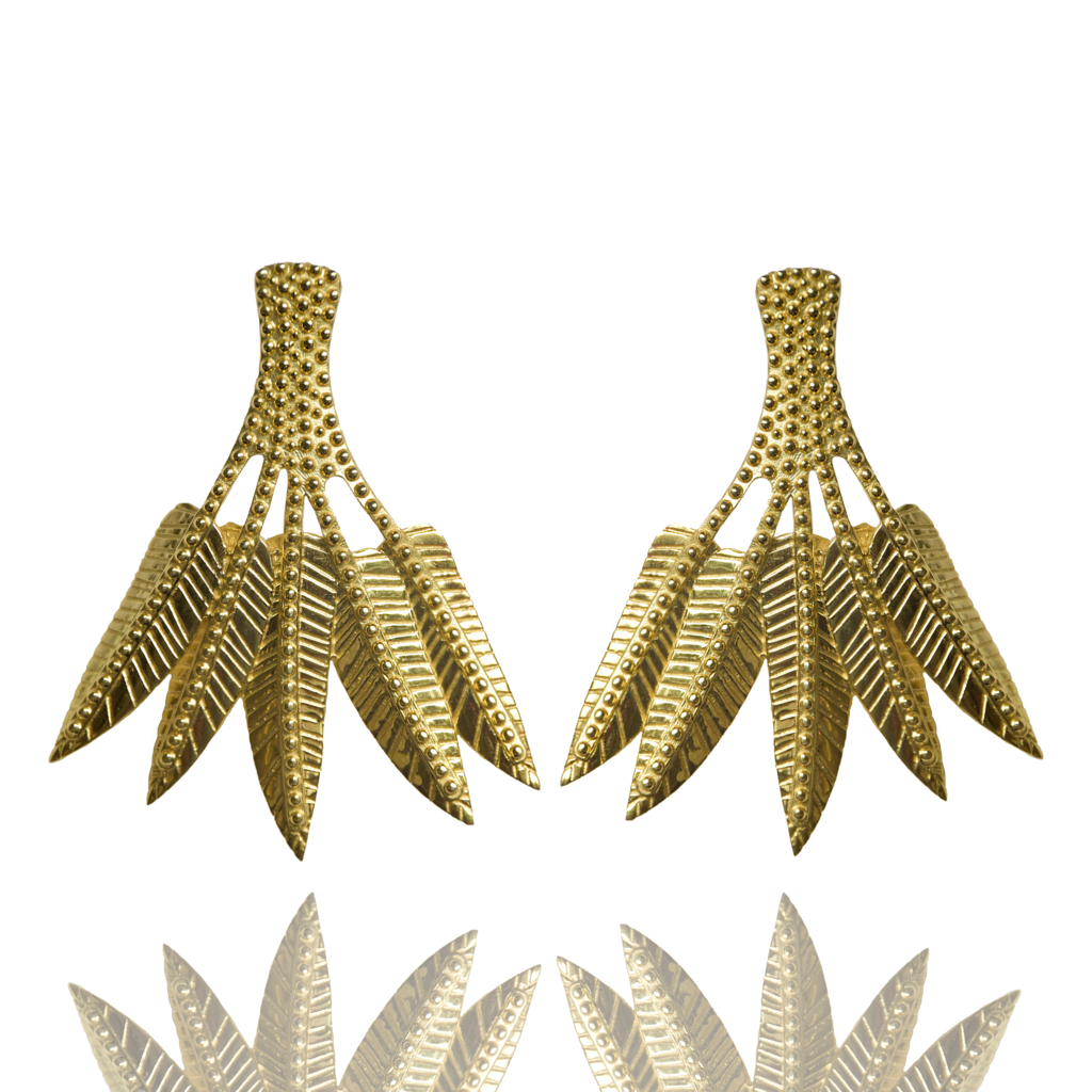 Mountain & Moon Ravella Earrings Gold