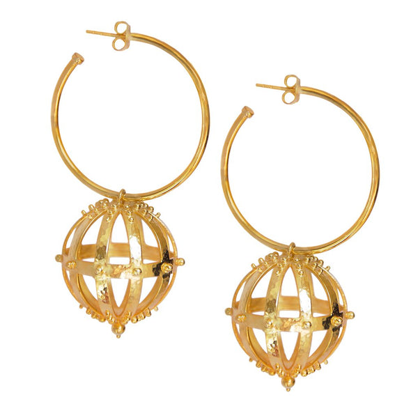 Mountain & Moon Victoria Earrings Gold