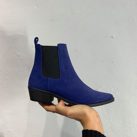 Ivy Lee Stella Royal Blue Suede