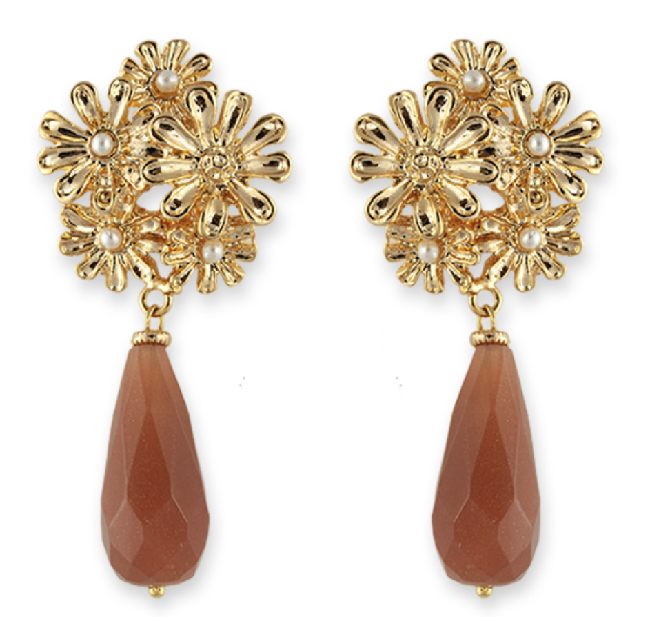 Bianc Jordan Earrings Gold
