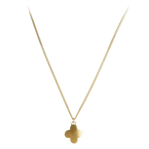 Moroccan Drop Necklace Gold
