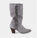 Ivy Lee Talula Grey Suede