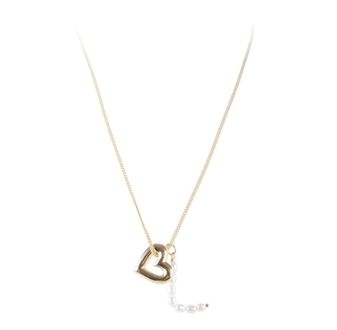 Fairley Pearl Love Necklace