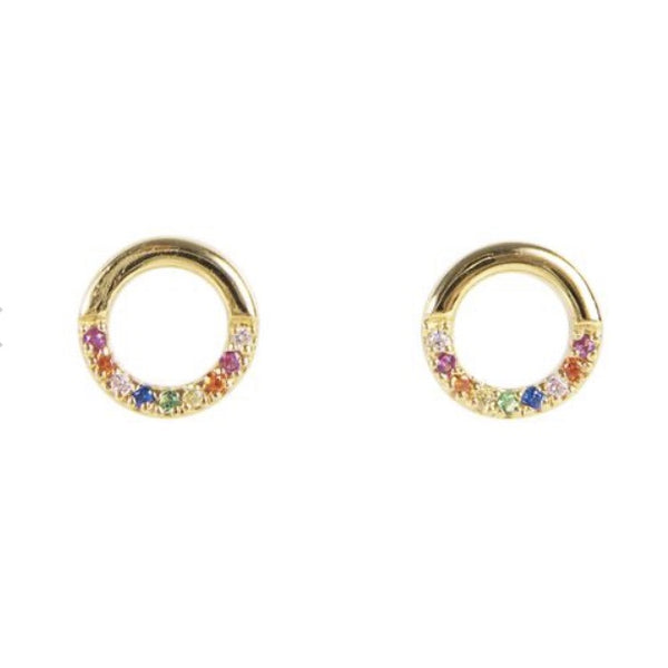 Fairley Infinite Rainbow Studs