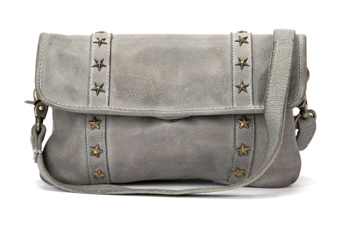 Star Struck Clutch Bag Grey