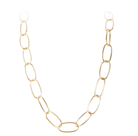Fairley Marilyn Link Necklace Gold