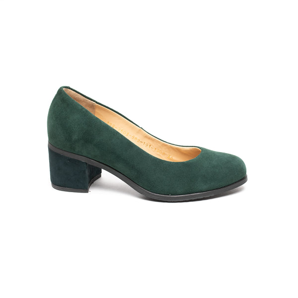 Royal Republiq Town Pump Green (Suede) - LAST PAIR size 36