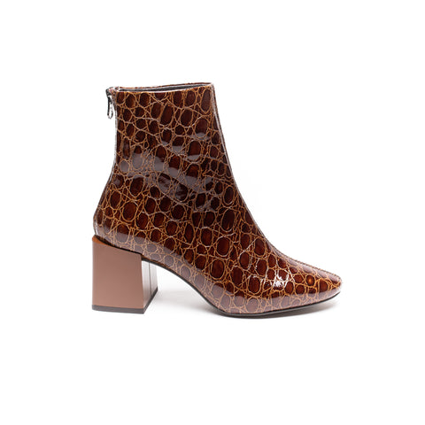 Lokas 6629 Brown Faux Croc