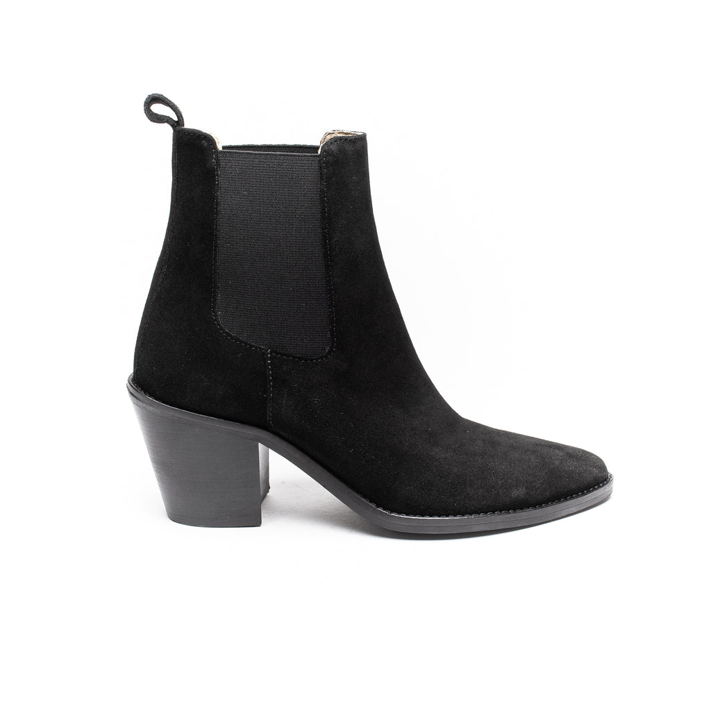 Ivy Lee Celine Black Suede