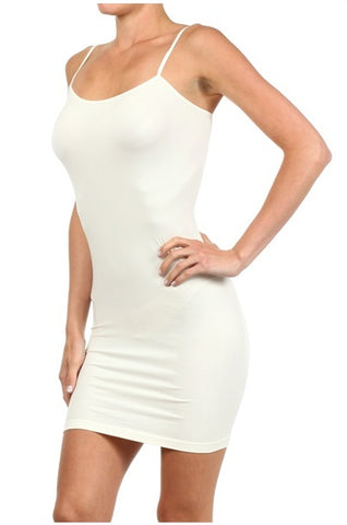 Basic Cami Dress | Thin Straps | Multiple Colors