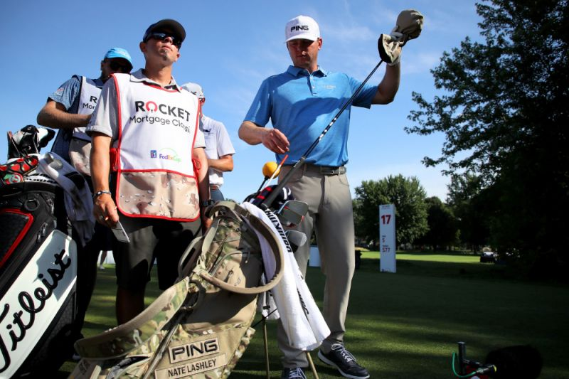 Nate Lashley Rocket Mortgage Classic Champion- What's in the Bag