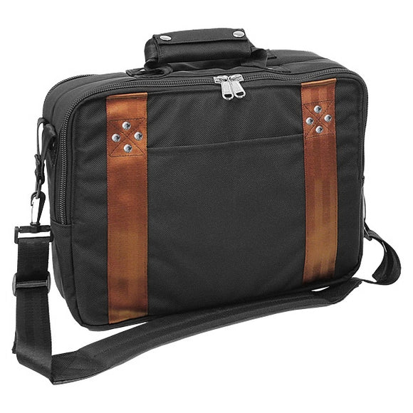 New Club Glove TRS Ballistic Shoulder Bag- Black/Bronze - Bogies R Us Golf Shop LowCountry Custom Golf