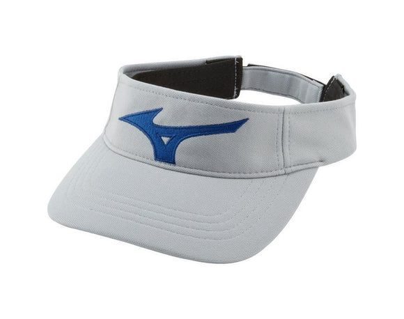 Mizuno Tour Visor- Grey/ Royal