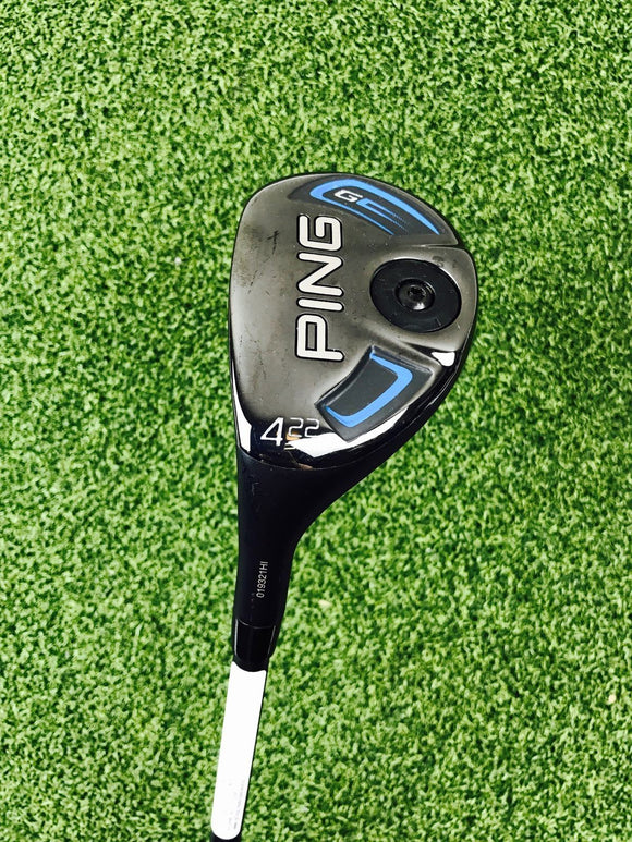 Ping G Series 4 22* Hybrid, Alta Regular Flex, LH - Bogies R Us Golf Shop LowCountry Custom Golf