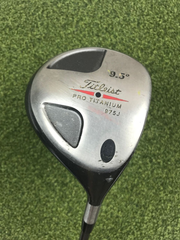 Titleist 975J 9.5* Driver, Titleist Ultralight Graphite Technology Stiff Flex,