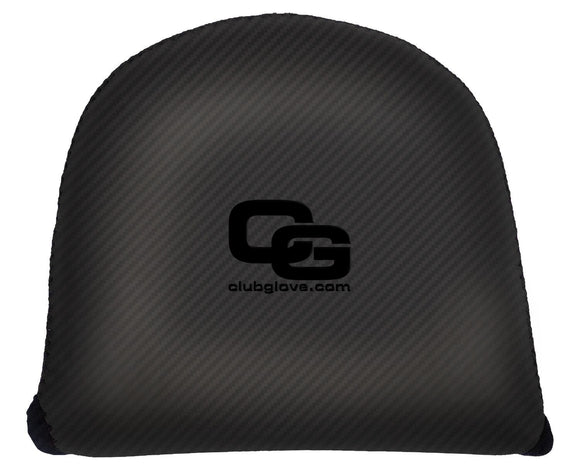 New Club Glove XL Gloveskin Mallet Putter Cover- Black- Left Hand - Bogies R Us Golf Shop LowCountry Custom Golf