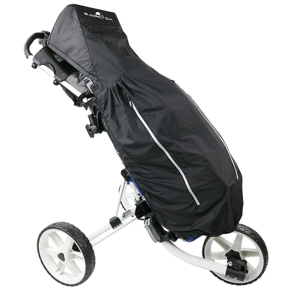 RainTek Push Cart Rain Cover- Black