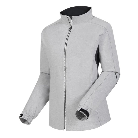 FootJoy Women's HydroLite Jacket- Heather Grey