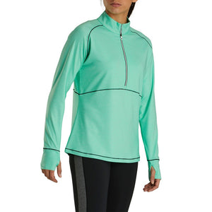 FootJoy Women's Tonal Dot Print Jersey Mid-Layer
