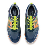 FootJoy Freestyle Boys Junior Golf Shoes- Navy/Orange - Bogies R Us Golf Shop LowCountry Custom Golf