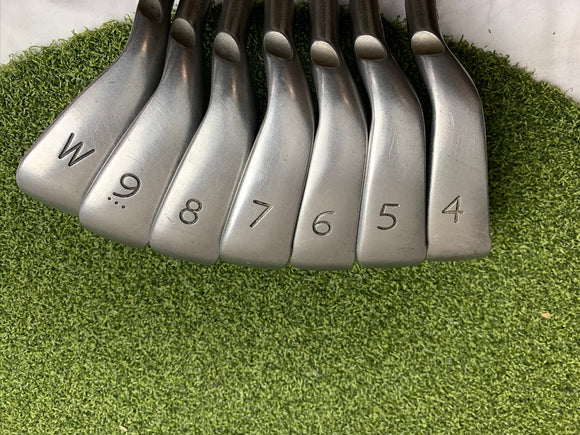 Ping G10 4-PW Iron Set, AWT Stiff Flex Shaft, RH