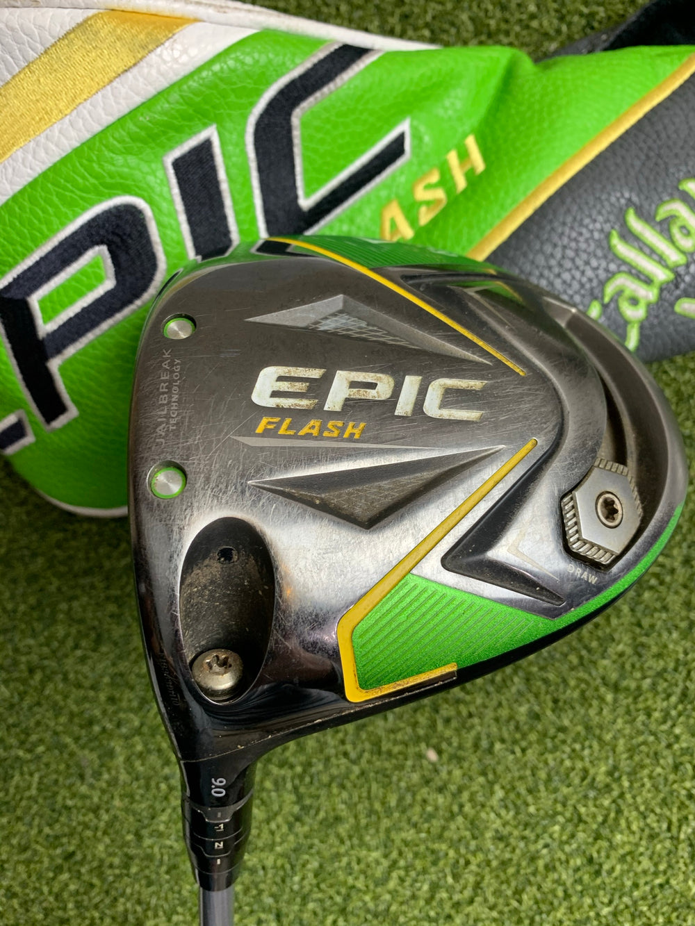 Callaway Epic Flash 9* Driver, Evenflow Stiff Flex, LH