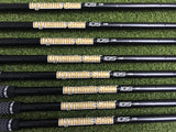 Limited Edition TaylorMade P790 Black 4-AW Iron Set, Black Dynamic Gold Regular Flex, RH