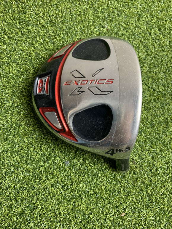 Tour Edge Exotics XCG 4 4 16.5* Fairway Wood HEAD ONLY, RH