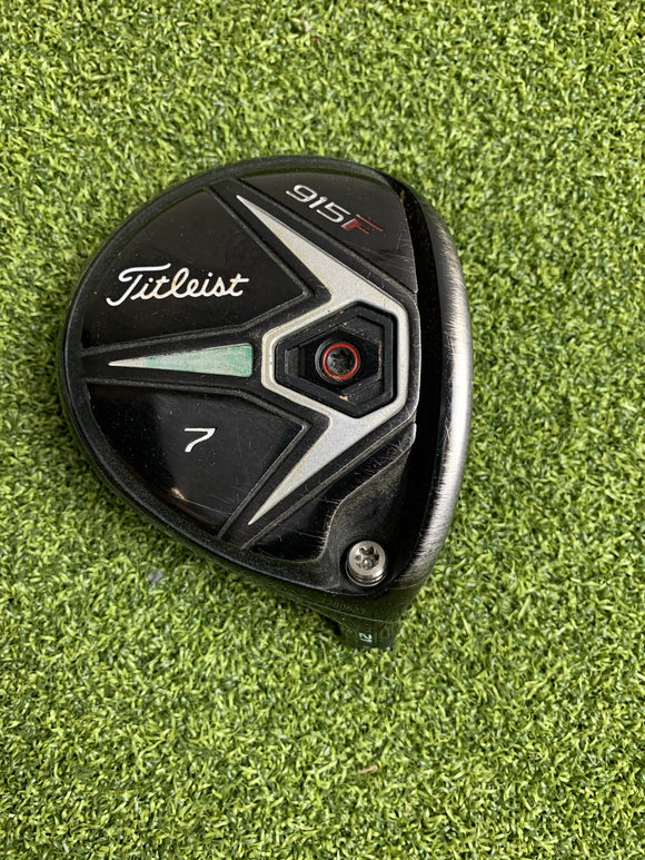 Titleist 915F 7 21* Fairway Wood HEAD ONLY, RH