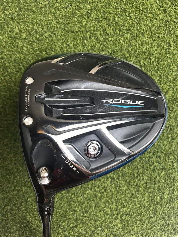 Callaway Rogue Draw 9* Driver, Synergy Stiff Flex, LH