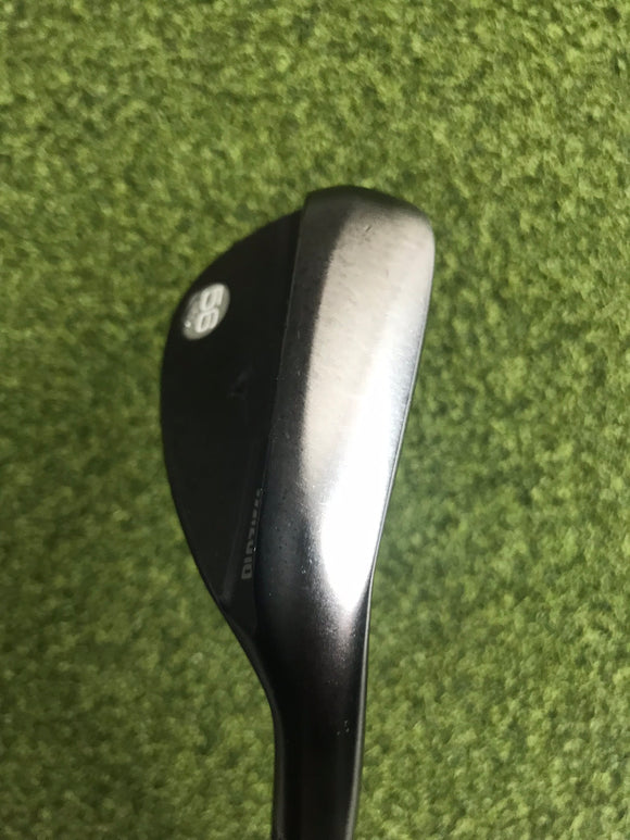 Mizuno S18 Gun Metal 56.14* Wedge, Dynamic Gold Wedge Flex, RH