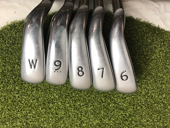 Ping G400 Power Spec 6-PW Iron Set, AWT 2.0 Regular Flex, LH