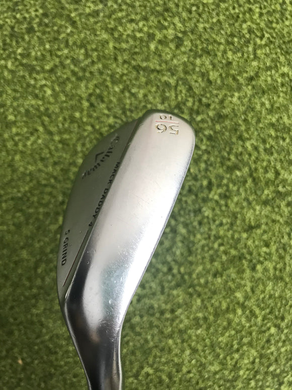 Callaway MD4 56.10* Wedge, Dynamic Gold Wedge Flex, RH